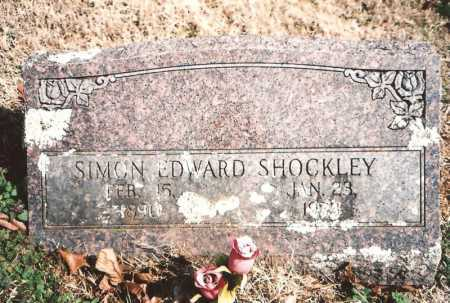 SHOCKLEY, SIMON EDWARD - Benton County, Arkansas | SIMON EDWARD SHOCKLEY - Arkansas Gravestone Photos