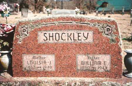 SHOCKLEY, LOUISIA JANE - Benton County, Arkansas | LOUISIA JANE SHOCKLEY - Arkansas Gravestone Photos