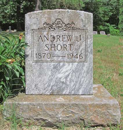 SHORT, ANDREW J - Benton County, Arkansas | ANDREW J SHORT - Arkansas Gravestone Photos