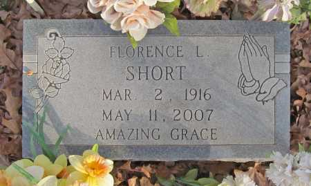 SHORT, FLORENCE L. - Benton County, Arkansas | FLORENCE L. SHORT - Arkansas Gravestone Photos