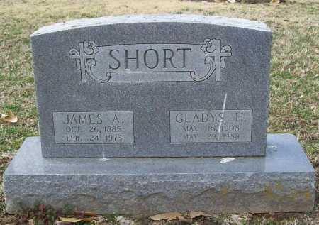 SHORT, JAMES A. - Benton County, Arkansas | JAMES A. SHORT - Arkansas Gravestone Photos