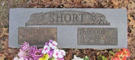 SHORT, THEODORE R. - Benton County, Arkansas | THEODORE R. SHORT - Arkansas Gravestone Photos
