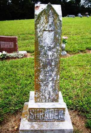 SHRADER, A. C. - Benton County, Arkansas | A. C. SHRADER - Arkansas Gravestone Photos