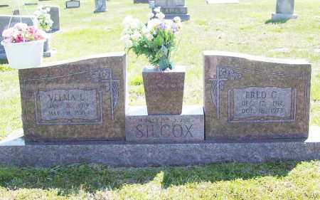 "SILCOX, FRED C. ""MAN"" - Benton County, Arkansas 