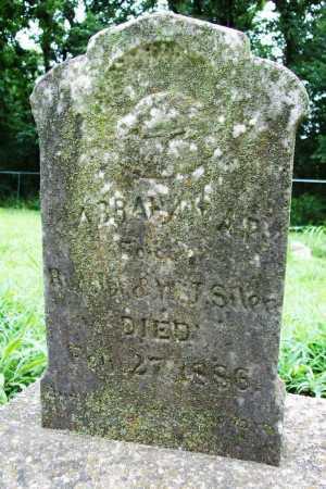 SILER, ABRAHAM A. P. - Benton County, Arkansas | ABRAHAM A. P. SILER - Arkansas Gravestone Photos