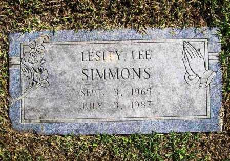 SIMMONS, LESLEY LEE - Benton County, Arkansas | LESLEY LEE SIMMONS - Arkansas Gravestone Photos