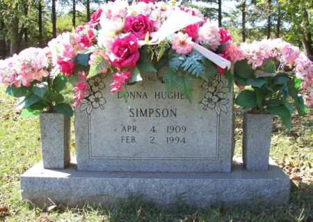 HUGHES SIMPSON, DONNA - Benton County, Arkansas | DONNA HUGHES SIMPSON - Arkansas Gravestone Photos