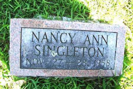 SINGLETON, NANCY ANN - Benton County, Arkansas | NANCY ANN SINGLETON - Arkansas Gravestone Photos