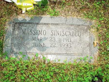 SINISCALCO, MASSIMO - Benton County, Arkansas | MASSIMO SINISCALCO - Arkansas Gravestone Photos