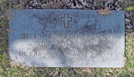 SISCO (VETERAN), BILLY BURTON - Benton County, Arkansas | BILLY BURTON SISCO (VETERAN) - Arkansas Gravestone Photos