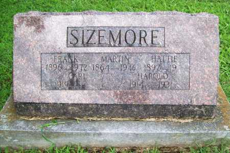 SIZEMORE, HATTIE - Benton County, Arkansas | HATTIE SIZEMORE - Arkansas Gravestone Photos