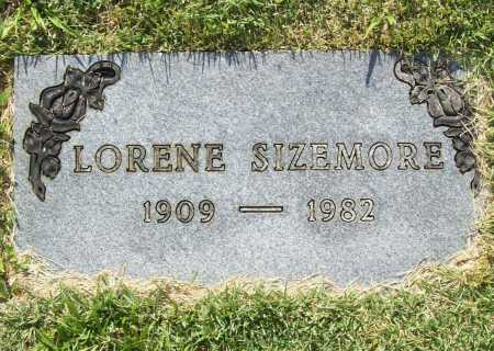 SIZEMORE, LORENE - Benton County, Arkansas | LORENE SIZEMORE - Arkansas Gravestone Photos