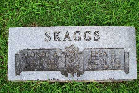 SKAGGS, ALONZO A. - Benton County, Arkansas | ALONZO A. SKAGGS - Arkansas Gravestone Photos