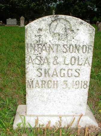 SKAGGS, INFANT SON - Benton County, Arkansas | INFANT SON SKAGGS - Arkansas Gravestone Photos