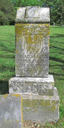 SKAGGS, ISAAC - Benton County, Arkansas | ISAAC SKAGGS - Arkansas Gravestone Photos