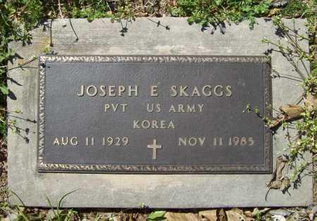 SKAGGS (VETERAN KOR), JOSEPH E - Benton County, Arkansas | JOSEPH E SKAGGS (VETERAN KOR) - Arkansas Gravestone Photos