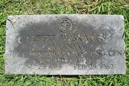 SKAGGS (VETERAN WWII), ALBERT W. - Benton County, Arkansas | ALBERT W. SKAGGS (VETERAN WWII) - Arkansas Gravestone Photos