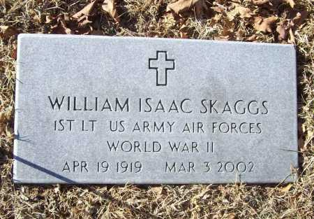 "SKAGGS (VETERAN WWII), WILLIAM ISAAC ""SNOWBALL"" - Benton County, Arkansas 