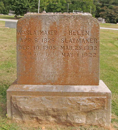 SLAYMAKER, WILLIAM - Benton County, Arkansas | WILLIAM SLAYMAKER - Arkansas Gravestone Photos