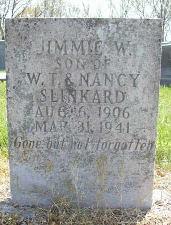 SLINKARD, JIMMIE W. - Benton County, Arkansas | JIMMIE W. SLINKARD - Arkansas Gravestone Photos