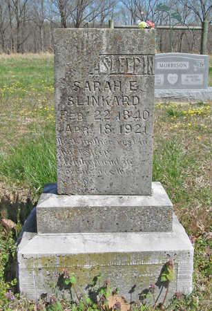 SLINKARD, SARAH ELIZABETH - Benton County, Arkansas | SARAH ELIZABETH SLINKARD - Arkansas Gravestone Photos