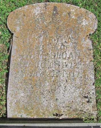 SLOAN, MARY - Benton County, Arkansas | MARY SLOAN - Arkansas Gravestone Photos