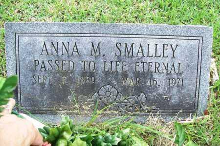 SMALLEY, ANNA M. - Benton County, Arkansas | ANNA M. SMALLEY - Arkansas Gravestone Photos