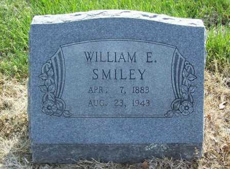 SMILEY, WILLIAM E. - Benton County, Arkansas | WILLIAM E. SMILEY - Arkansas Gravestone Photos