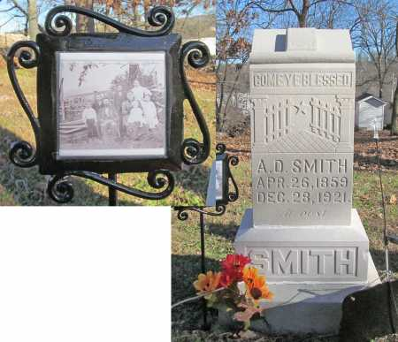 SMITH, A. D. - Benton County, Arkansas | A. D. SMITH - Arkansas Gravestone Photos