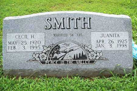SMITH, CECIL H. - Benton County, Arkansas | CECIL H. SMITH - Arkansas Gravestone Photos