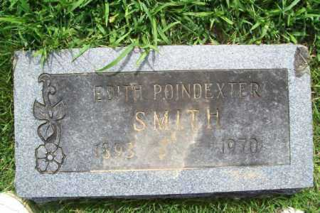 POINDEXTER SMITH, EDITH - Benton County, Arkansas | EDITH POINDEXTER SMITH - Arkansas Gravestone Photos