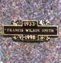 SMITH, FRANCIS WILSON - Benton County, Arkansas | FRANCIS WILSON SMITH - Arkansas Gravestone Photos