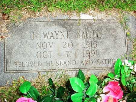 SMITH, F. WAYNE - Benton County, Arkansas | F. WAYNE SMITH - Arkansas Gravestone Photos