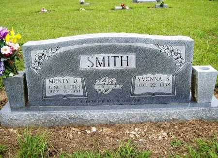 SMITH, MONTY D. - Benton County, Arkansas | MONTY D. SMITH - Arkansas Gravestone Photos