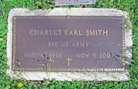 SMITH (VETERAN), CHARLES EARL - Benton County, Arkansas | CHARLES EARL SMITH (VETERAN) - Arkansas Gravestone Photos