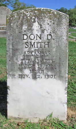 SMITH (VETERAN), DON D - Benton County, Arkansas | DON D SMITH (VETERAN) - Arkansas Gravestone Photos