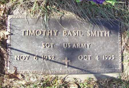 SMITH (VETERAN), TIMOTHY BASIL - Benton County, Arkansas | TIMOTHY BASIL SMITH (VETERAN) - Arkansas Gravestone Photos