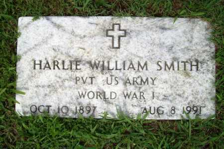 SMITH (VETERAN WWI), HARLIE WILLIAM - Benton County, Arkansas | HARLIE WILLIAM SMITH (VETERAN WWI) - Arkansas Gravestone Photos