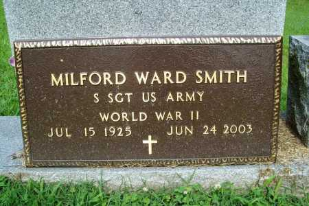 SMITH (VETERAN WWII), MILFORD WARD - Benton County, Arkansas | MILFORD WARD SMITH (VETERAN WWII) - Arkansas Gravestone Photos
