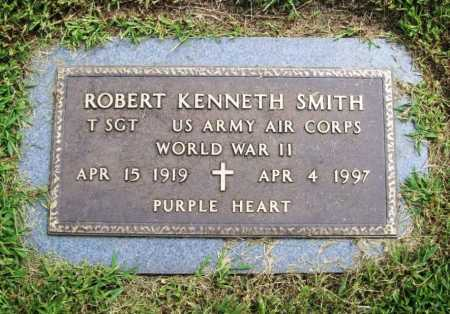 SMITH (VETERAN WWII), ROBERT KENNETH - Benton County, Arkansas | ROBERT KENNETH SMITH (VETERAN WWII) - Arkansas Gravestone Photos