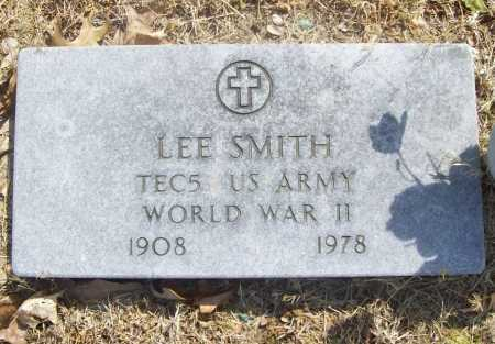 SMITH (VETERAN WWII), LEE - Benton County, Arkansas | LEE SMITH (VETERAN WWII) - Arkansas Gravestone Photos