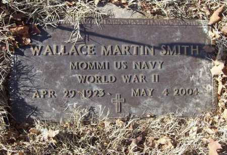 "SMITH (VETERAN WWII), WALLACE MARTIN ""WALLY"" - Benton County, Arkansas 