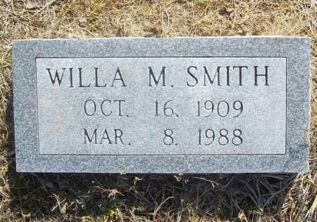 SMITH, WILLA M. - Benton County, Arkansas | WILLA M. SMITH - Arkansas Gravestone Photos