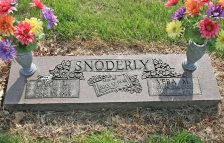 SNODERLY, CARL L. - Benton County, Arkansas | CARL L. SNODERLY - Arkansas Gravestone Photos