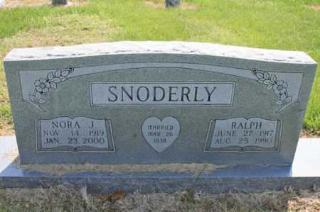 SNODERLY, NORA J. - Benton County, Arkansas | NORA J. SNODERLY - Arkansas Gravestone Photos