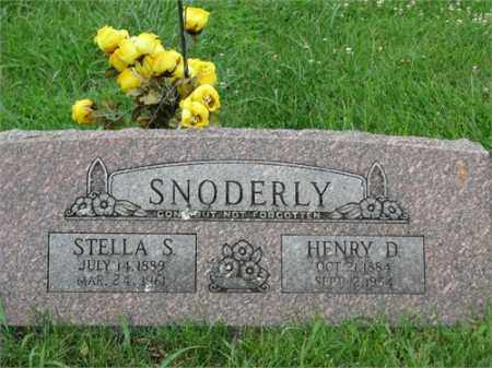 SNODERLY, HENRY D. - Benton County, Arkansas | HENRY D. SNODERLY - Arkansas Gravestone Photos