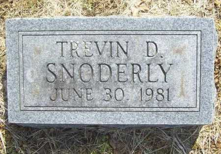 SNODERLY, TREVIN D. - Benton County, Arkansas | TREVIN D. SNODERLY - Arkansas Gravestone Photos