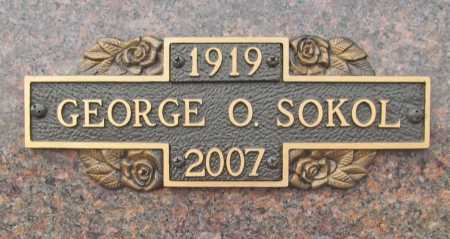 SOKOL (VETERAN WWII), GEORGE OWEN - Benton County, Arkansas | GEORGE OWEN SOKOL (VETERAN WWII) - Arkansas Gravestone Photos