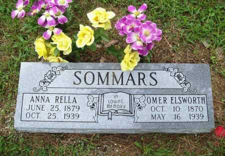 SOMMARS, ANNA RELLA - Benton County, Arkansas | ANNA RELLA SOMMARS - Arkansas Gravestone Photos