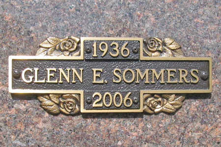 SOMMERS, GLENN E. - Benton County, Arkansas | GLENN E. SOMMERS - Arkansas Gravestone Photos